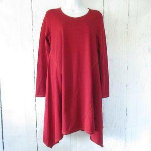Gudrun Sjoden Dress Tunic Top Lagenlook Asymmetric